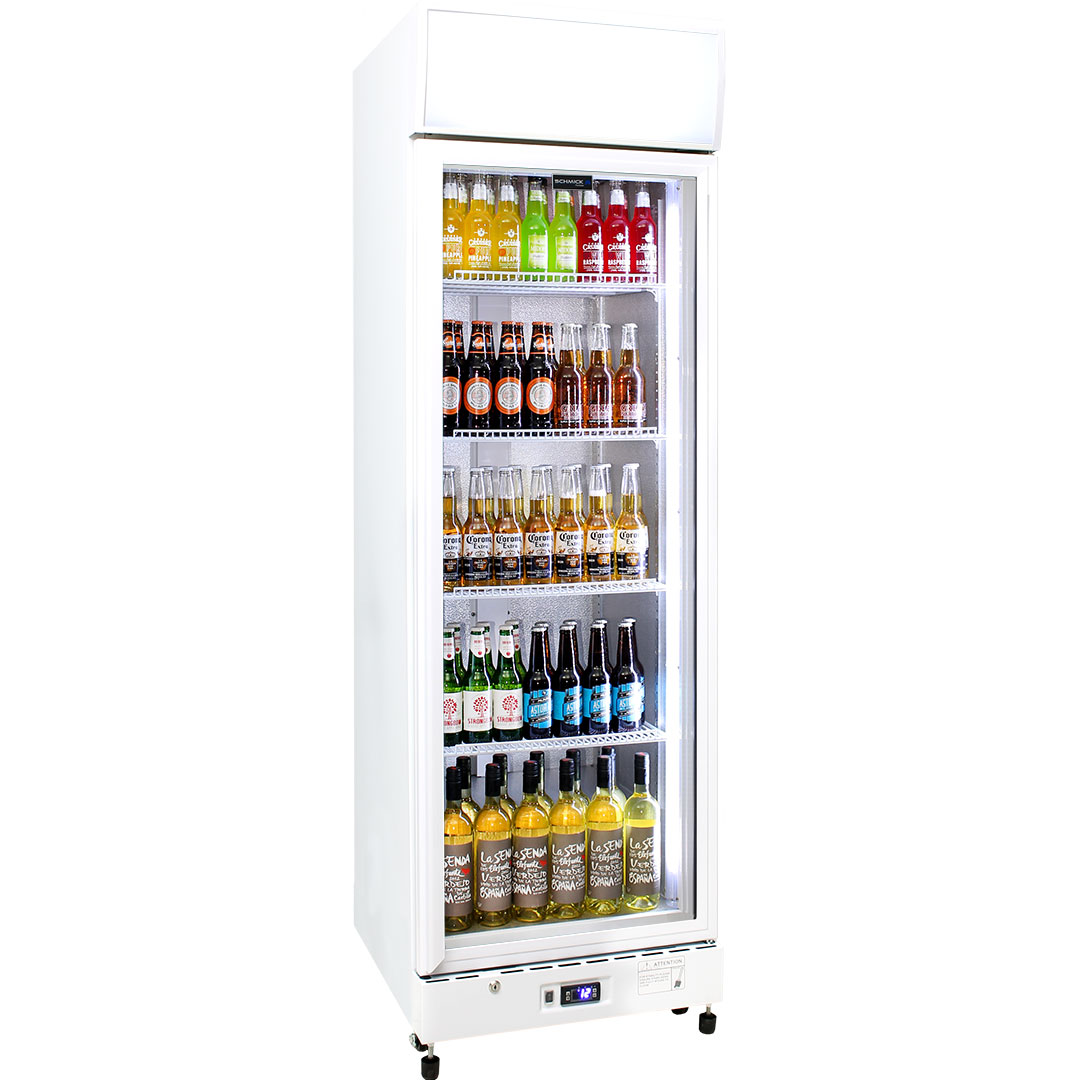 Schmick Commercial Upright 1 Glass Door Bar Fridge