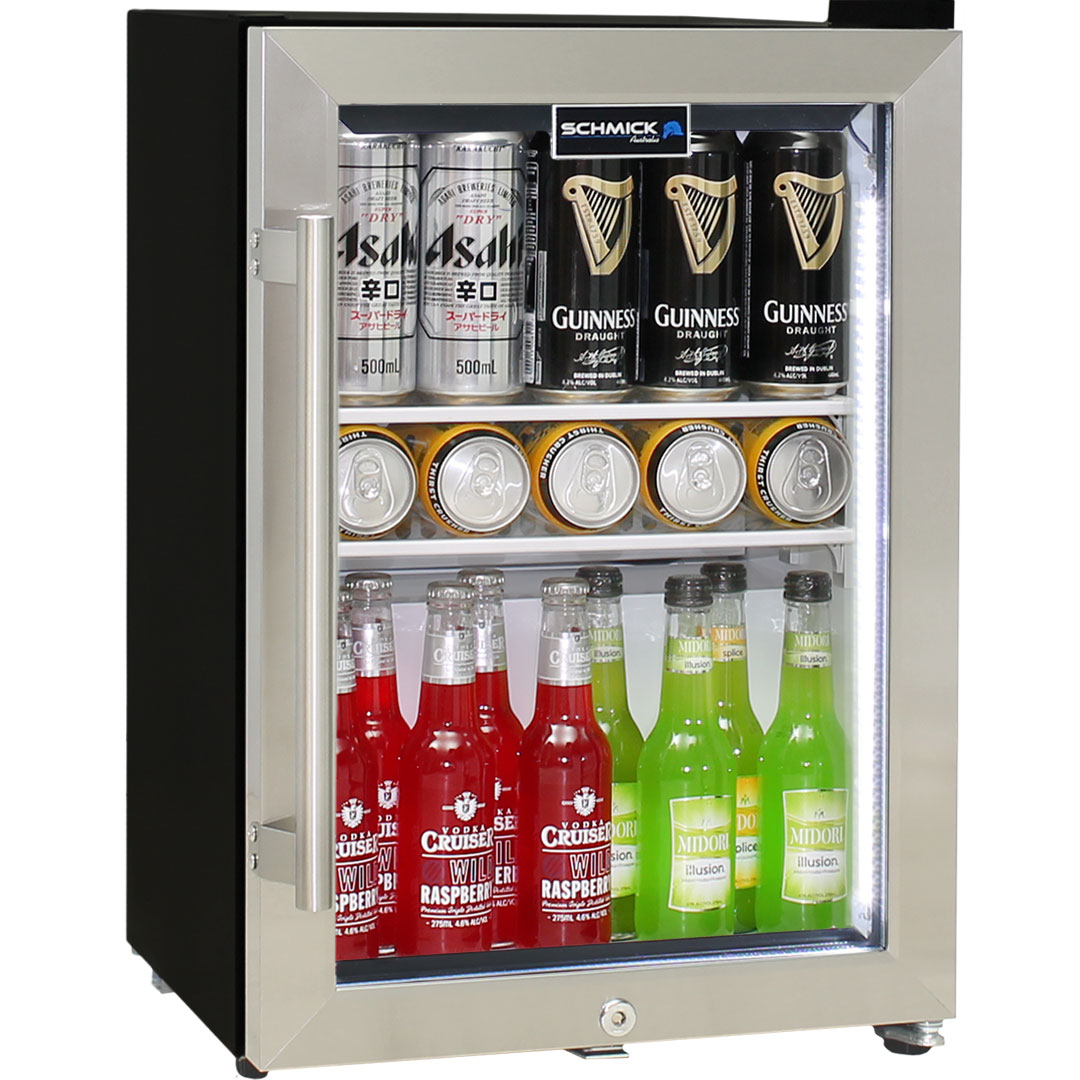 Shallow Depth Mini Bar Fridge Schmick Brand With Triple