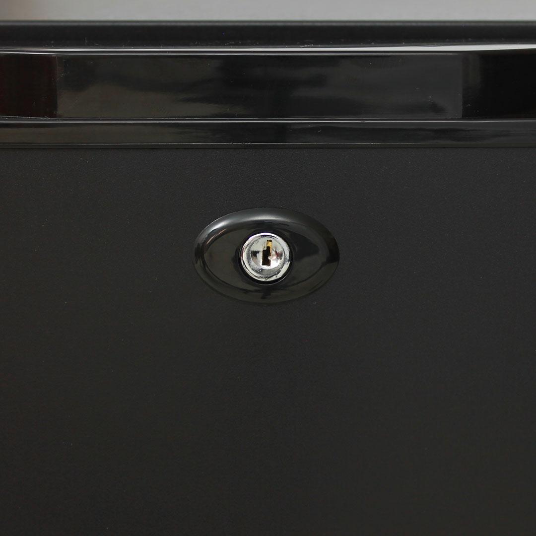 Dellware Silent Mini Bar Fridge - Lockable
