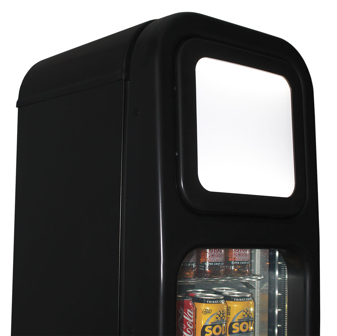 Skinny Tall Bar Fridge - Lightbox, Ask About Branding!