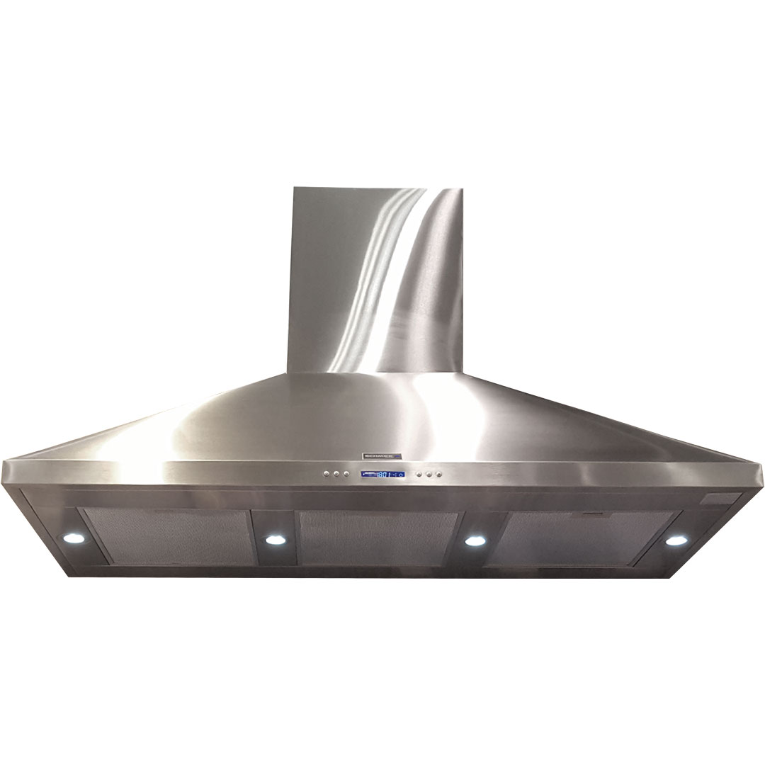 Stainless Steel Alfresco Range Hood - Copper Motors And Teflon Coated Fans
