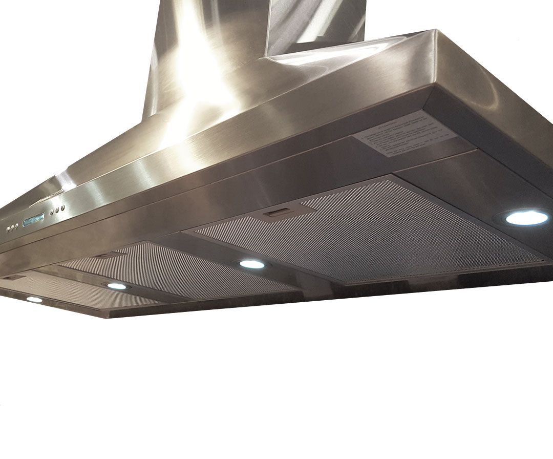 Schmick Stainless Steel Alfresco Range Hood - Over 2000m3hr Air Removal Sucks Away Those Smoky Marinated Chiskabobs (love that word)
