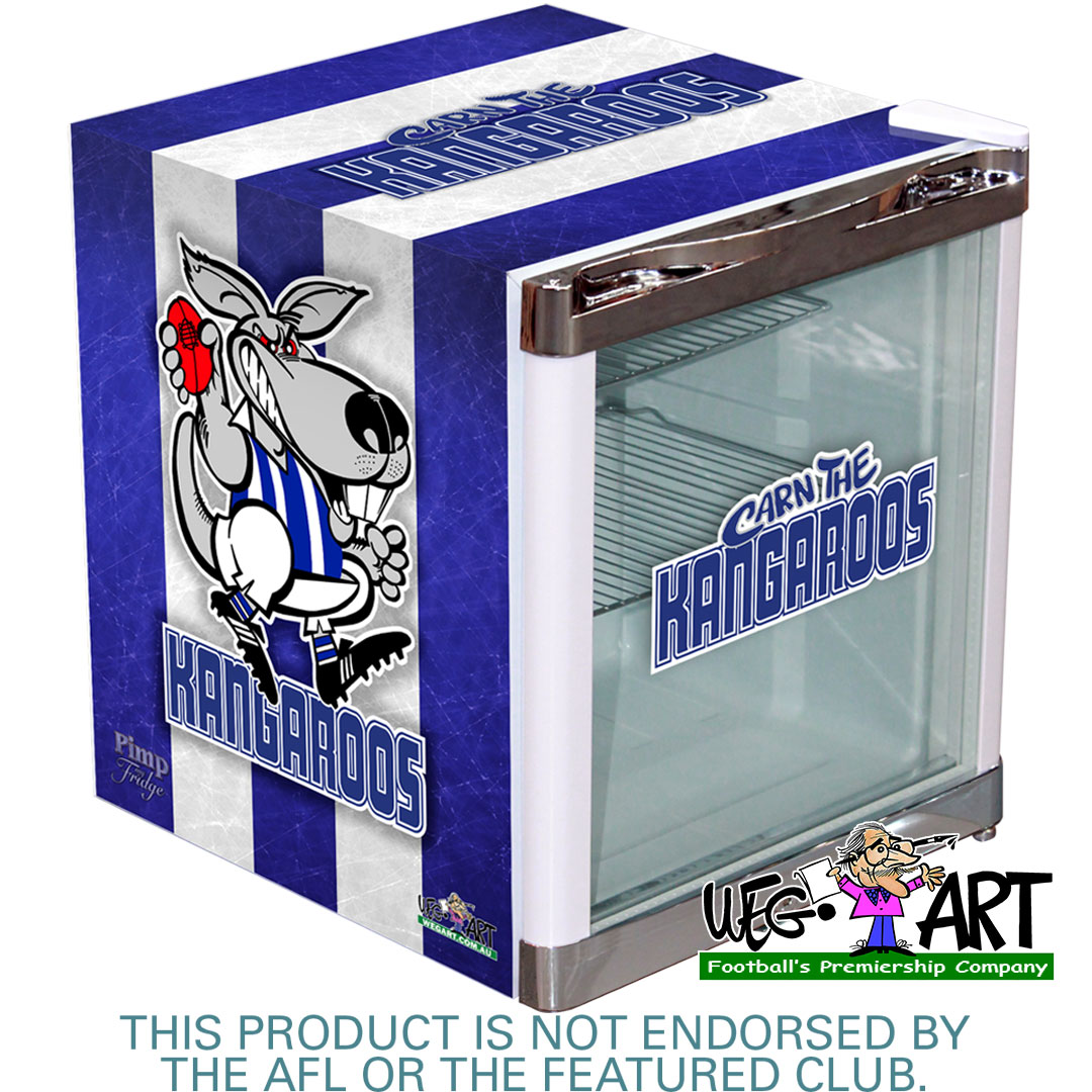 Weg Art Mini 50 Litre Footy Bar Fridge - 15 Teams Available.