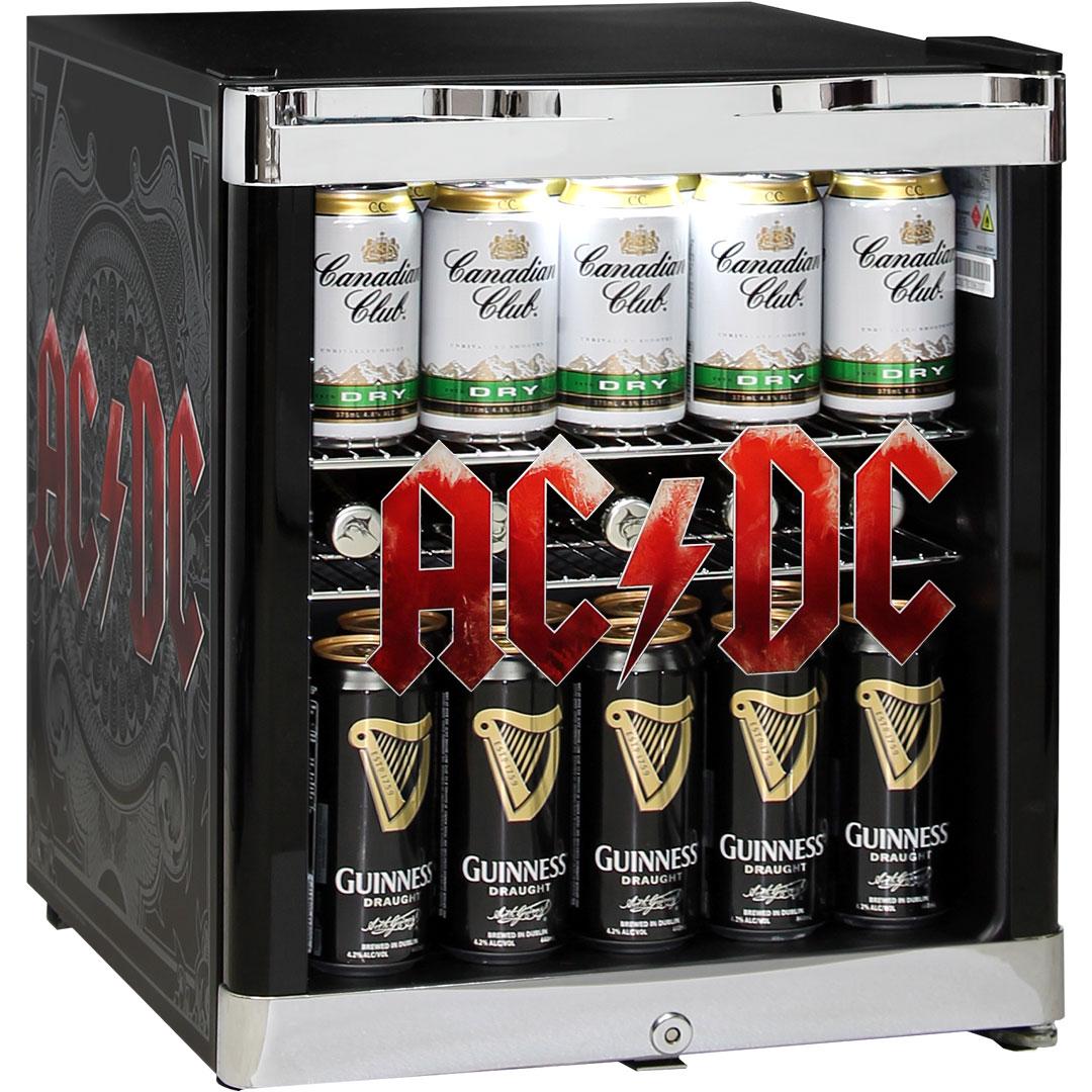 ACDC Rock Band Mini Bar Fridge - TNT