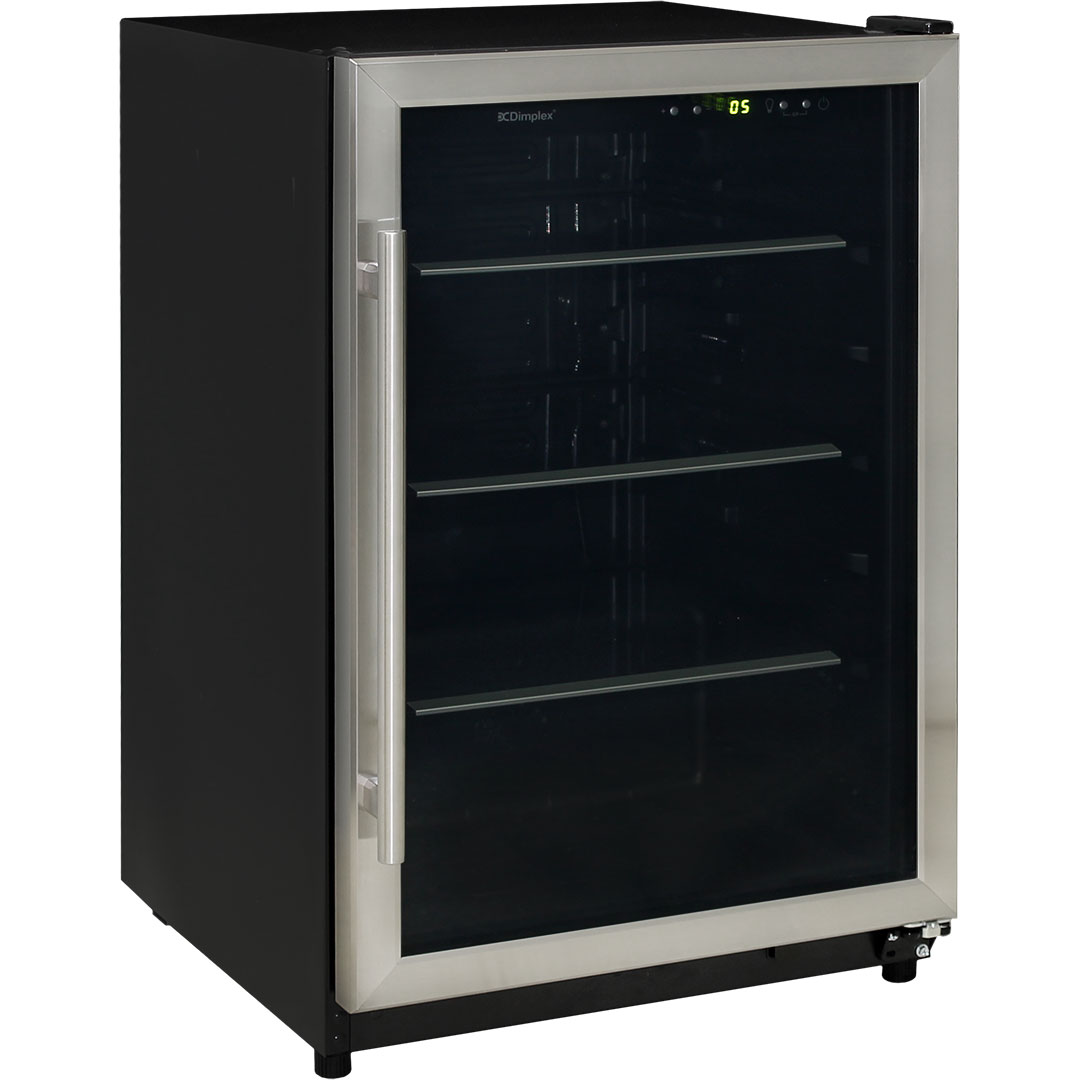 Dimplex Drinks Beer Fridge - 3 x Flat Tempered Glass Shelves