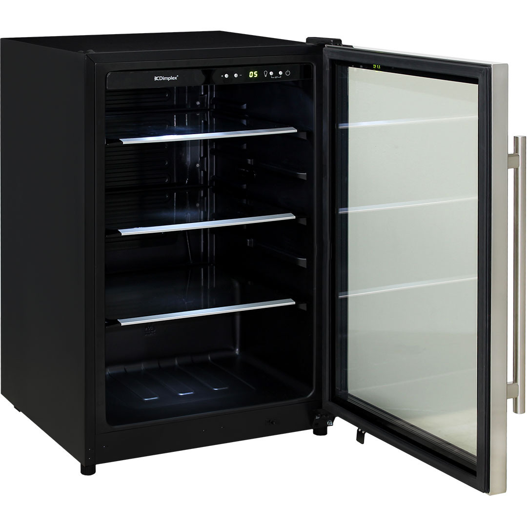 Dimplex Drinks Beer Fridge - 5 x Height Positions For Shelving