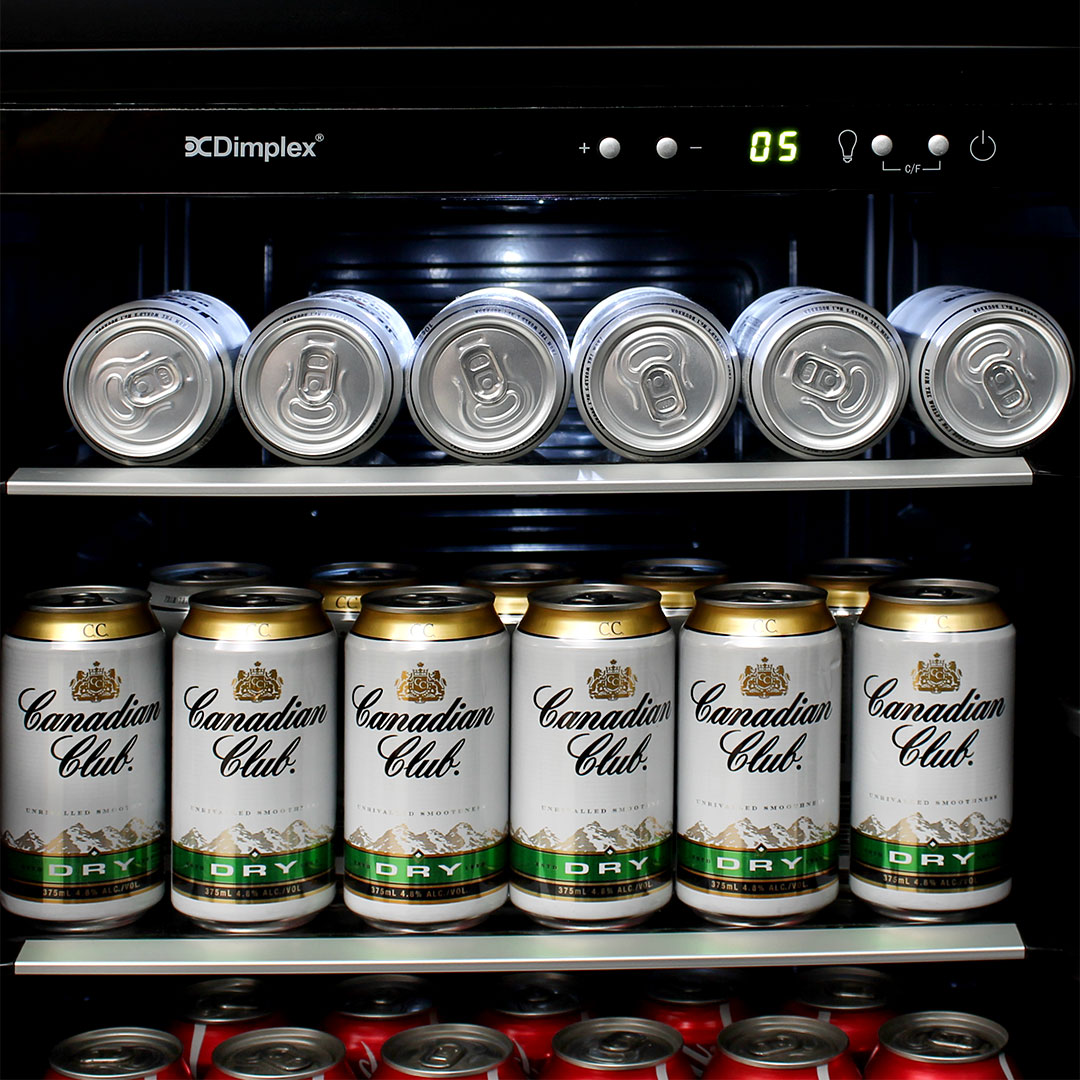 Dimplex Drinks Beer Fridge - Electronic Touch Controls