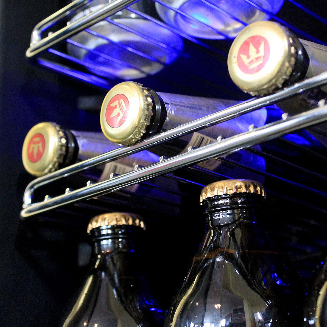 Schmick Beer And Wine Matching Indoor Quiet Running Fridge Combination Model SK151G-Combo Wine