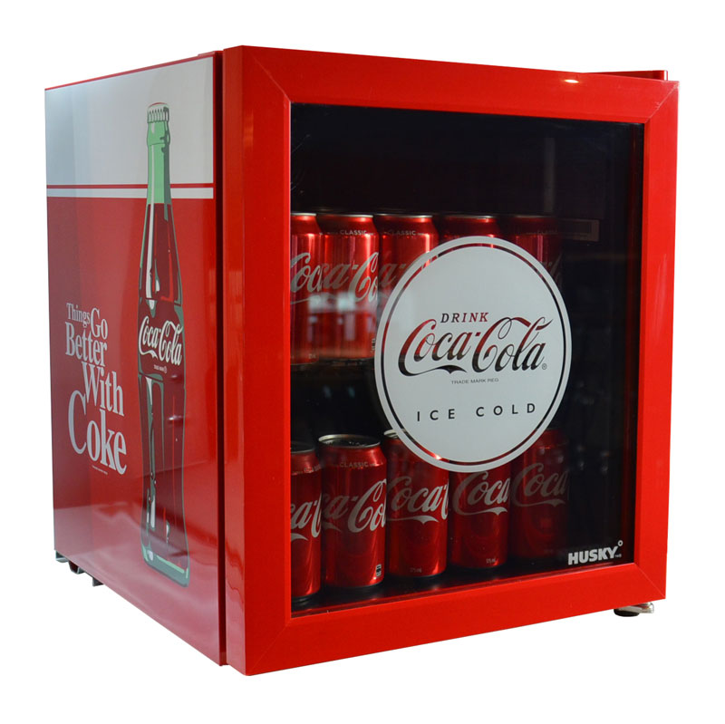 Coca Cola Retro Mini Glass Door Bar Fridge Popular Unit