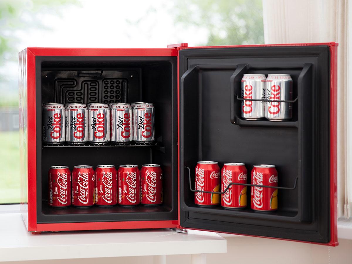 Coca Cola Retro Mini Glass Door Bar Fridge Keeps Things Nice N Cool