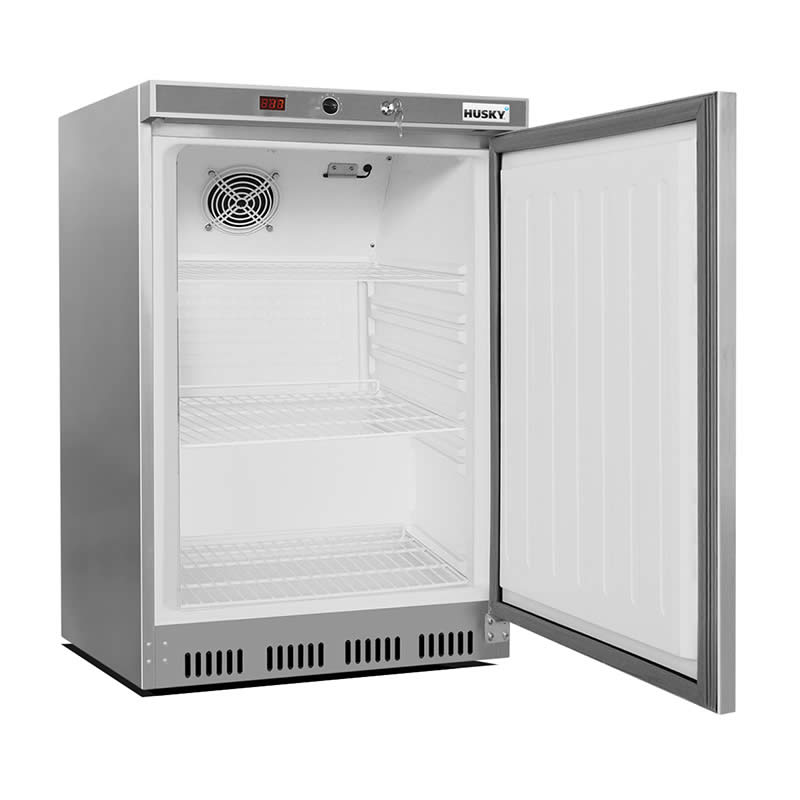 Reversible Lockable Door Soft Edged Easy Grasp Handle And Plenty Of Room  sc 1 st  Bar Fridges Australia & Husky 1 Door Commercial Food Service Under Counter Bar Fridge 200Litre
