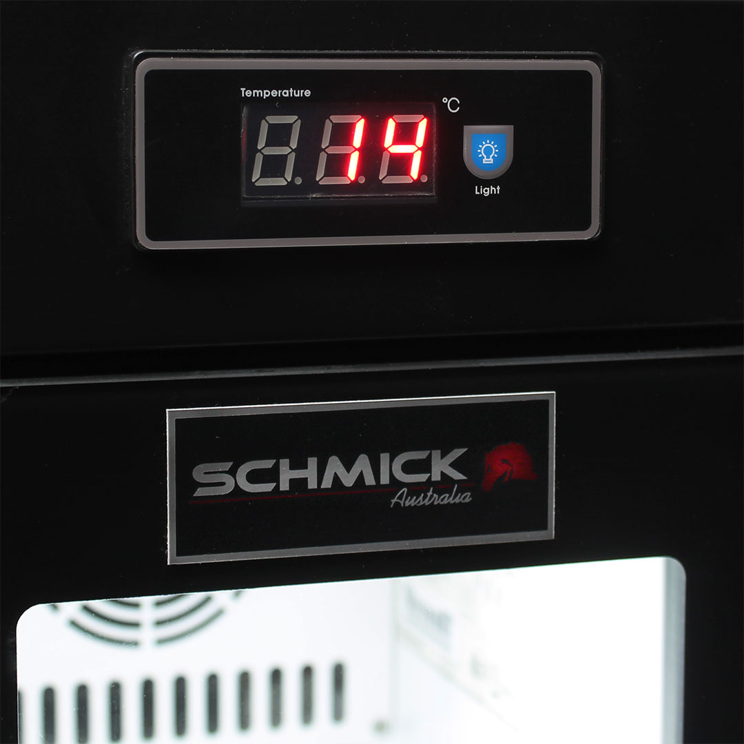 Mini Milk Fridge Led Temp Display And Light Switch