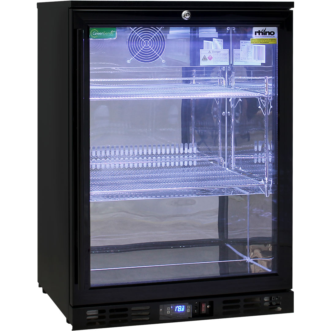 Rhino  Bar Fridge - Led Lighting With Remote Control And 12 Colors
