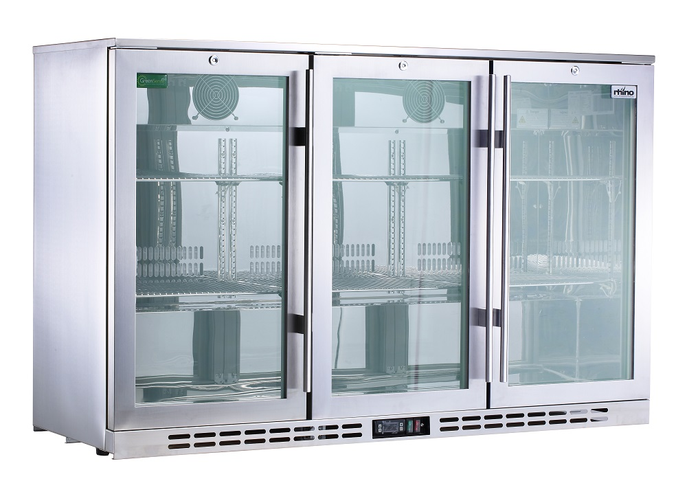 Heated Doors 3 Door Alfresco Fridge Rhino