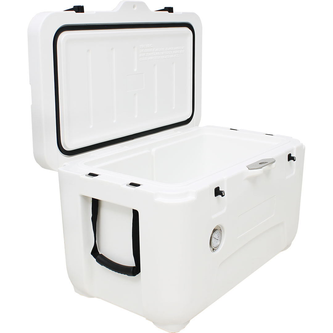 Rhino 50 Litre Ice Box - Inner Lid Rubber Seal Ensures 100% Air Tight Sealing