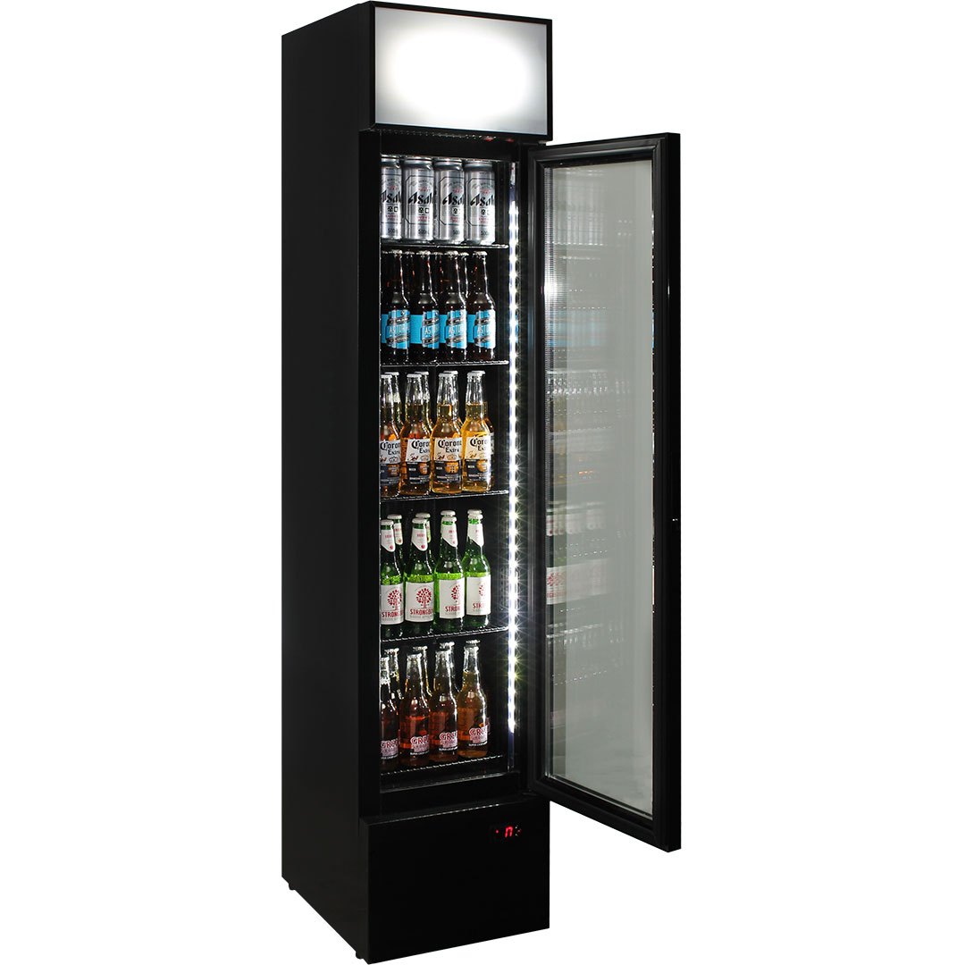Schmick 1 Door Skinny Bar Fridge - Plenty Of Shelf Adjustments
