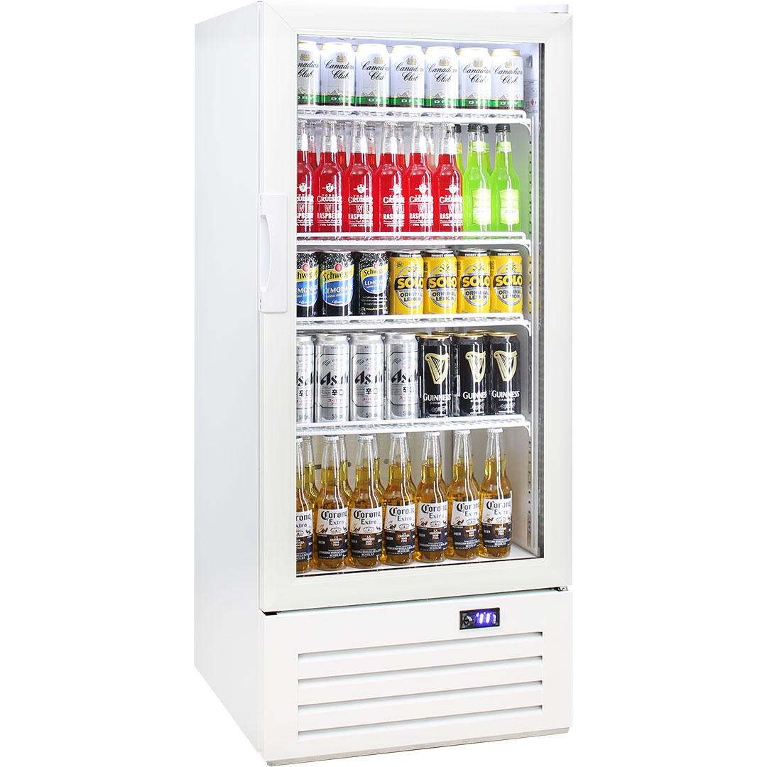 Schmick Commercial Short Upright 1 Glass Door Bar Fridge
