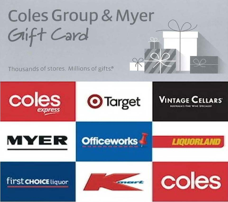 Click drop down box to right to receive the $50 Coles voucher