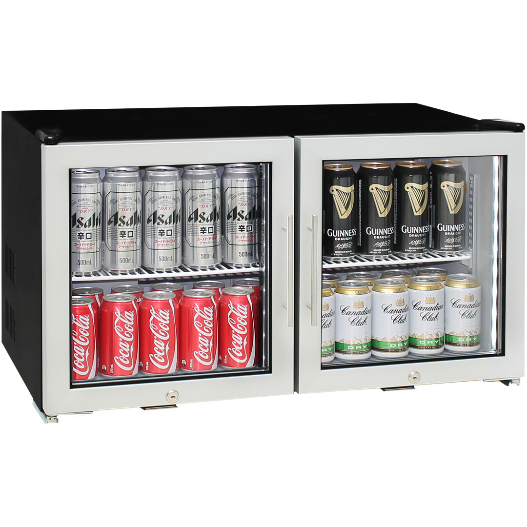 Alfresco Bar Fridge with LOW E Glass