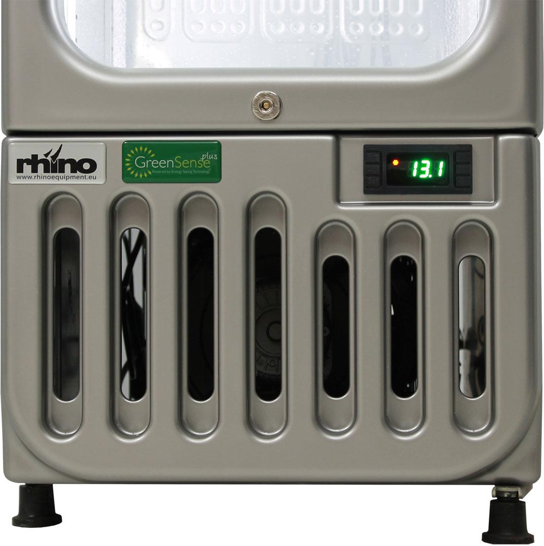 Skinny Tall Bar Fridge - Electronic Controller Rhino Brand Famous For Latest Energy Saving Technology