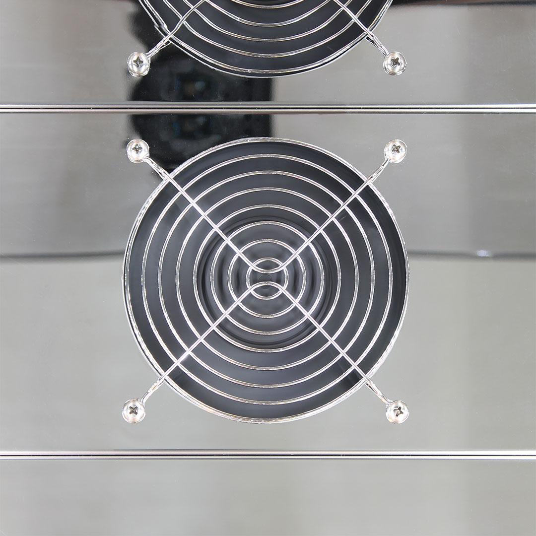 Rhino Glass Door Fridges Use German EBM Fans