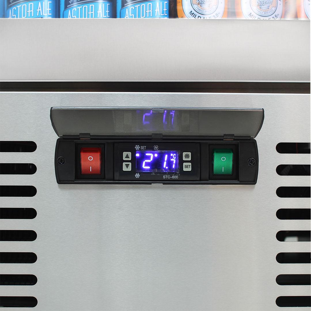 Rhino Glass Door Fridges Use German Danfoss Controllers