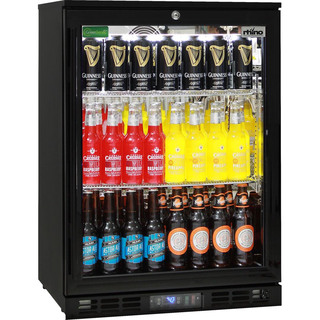 Rhino Commercial 1 Door Pub Beer Bar Fridge - Reliable Unit Brand Parts Great Warranty