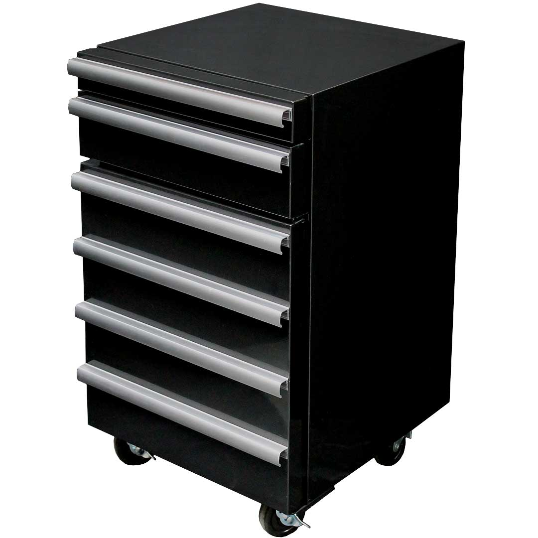 Toolbox Fridge With 2 Tool Drawers and 50Litre Refrigerator Angle2