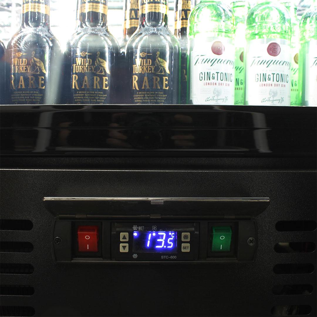 Rhino Commercial Energy Efficient Bar Fridge Rhino SGT1L-B Controller