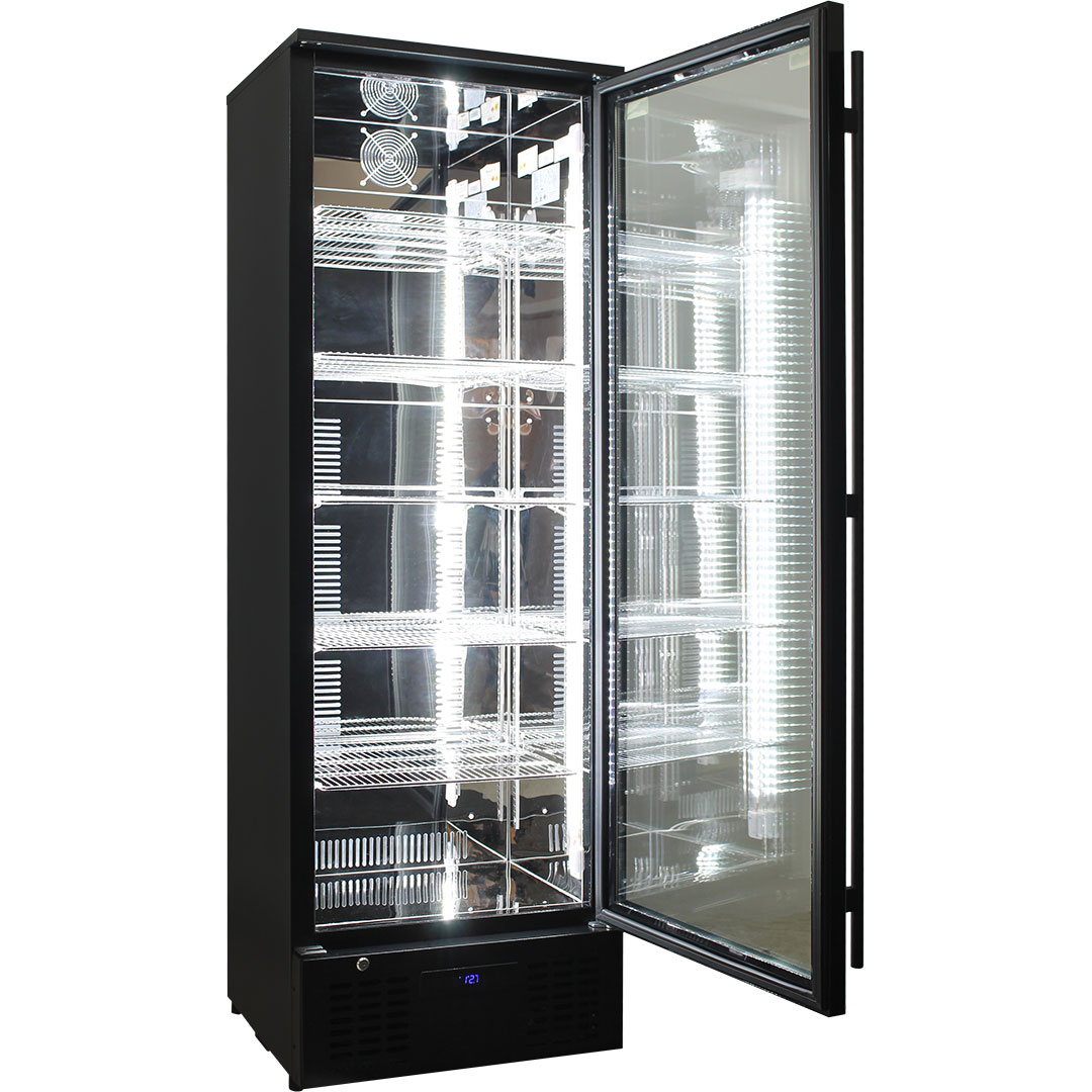 Rhino Commercial 1 Door Upright Pub Beer Bar Fridge - Reliable Unit Brand Parts And Ultra Energy Efficient