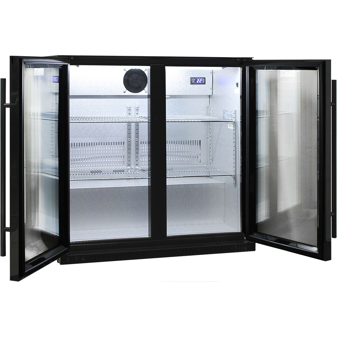 Schmick 2 Door Heated Glass Fridge