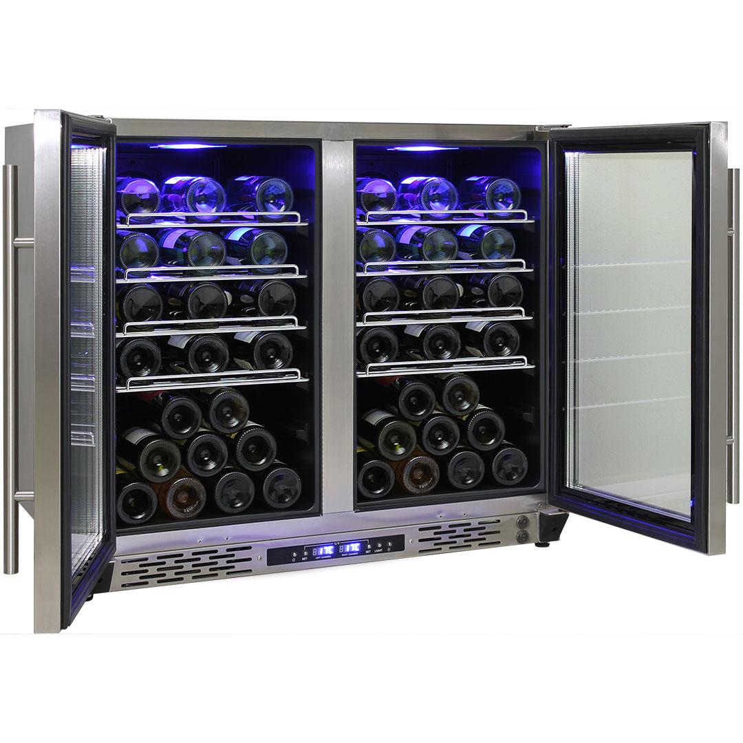Schmick Dual Zone Alfresco Beer And Wine Bar Fridge JC190-GG All Wine