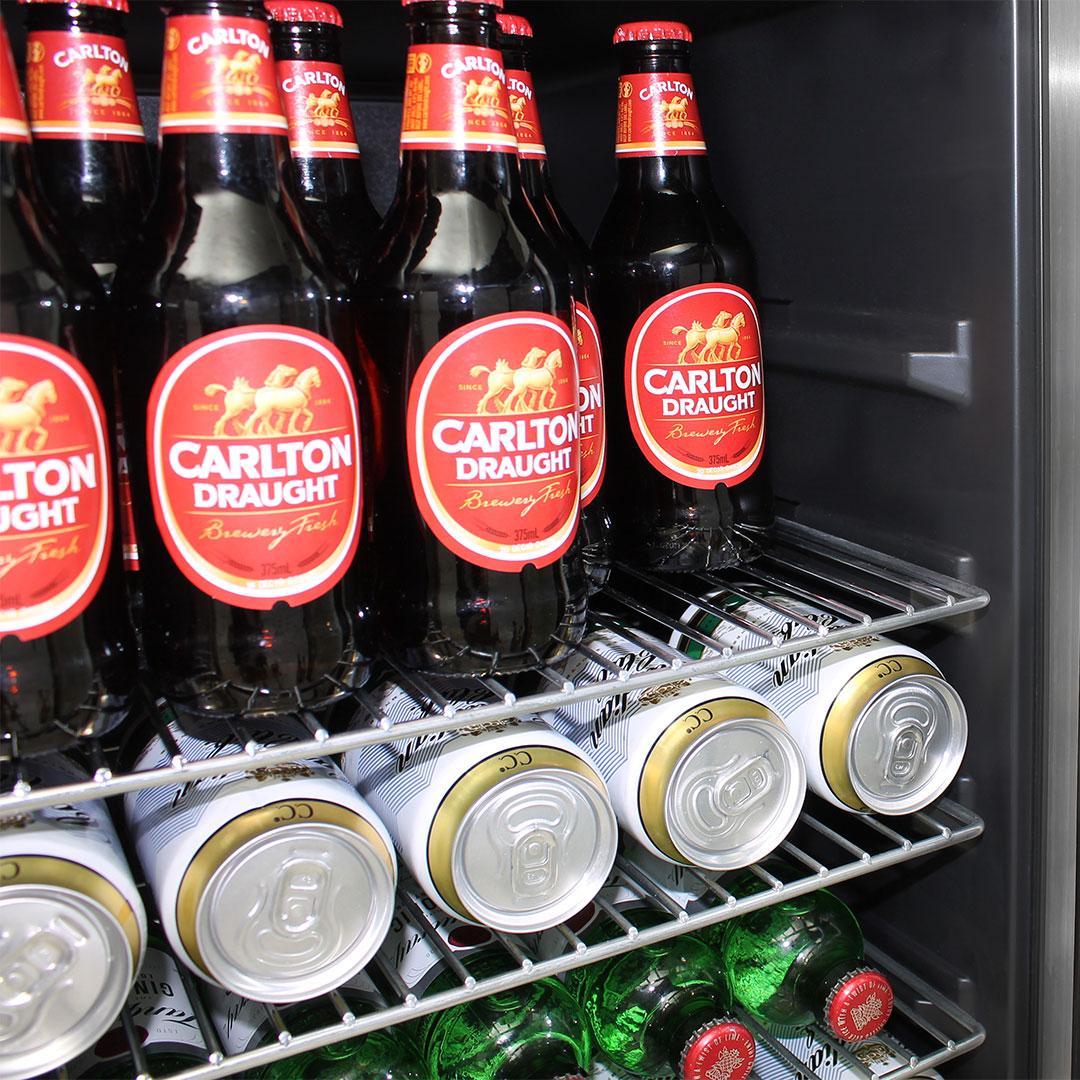 Schmick Dual Zone Alfresco Beer And Wine Bar Fridge JC190-GG