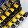 Under Bench Beer And Wine Matching Bar Fridge Telescopic Pull Out Wine Shelving