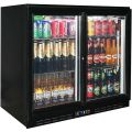 Rhino Back Bar 2 Sliding Glass Door Bar Fridge Model SG2S-B
