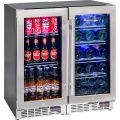 Beer And Wine Glass Door Bar Fridge Model SK101-Combo
