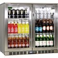 Heated Doors 2 Door Alfresco Fridge Rhino