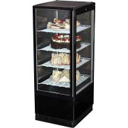 Black Cake And Sandwich Display Refrigerator Model BSF170B-95