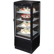 Black Cake And Sandwich Display Refrigerator Model BSF170B-95 Angle2