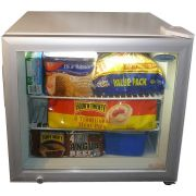 Dellware Glass Door Mini Freezer Model DW-SD50 front