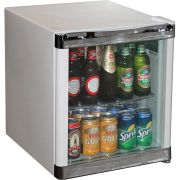 Husky Tropical Glass Door mini Bar Fridge Model HUS-SC50W