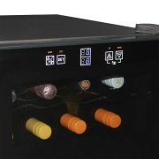 Mini Beer And Wine Fridge Model BCWH69 Controls