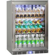 Rhino Outdoor Bar Fridge All Stainless Steel With Lock