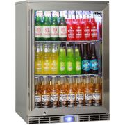 Rhino Outdoor Bar Fridge All Stainless Steel With German Fans