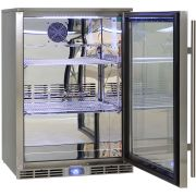 Rhino Outdoor Bar Fridge Polished Stainless Steel Inner