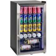 Glass Door Beer Bar Fridge Model HUS-SC88L-SS