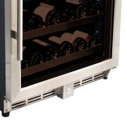 Single Zone Glass Door Wine Fridge Model CTW54DF-SS Lock