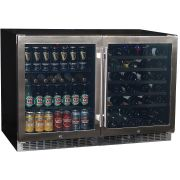 Schmick Beer And Wine Matching Indoor Quiet Running Fridge Combination Model YC150-Combo