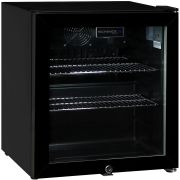 Glass Door Black Bar Fridge Model HUS-SC50AB