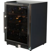 Single Zone Glass Door Wine Fridge Model CTW54W-SS